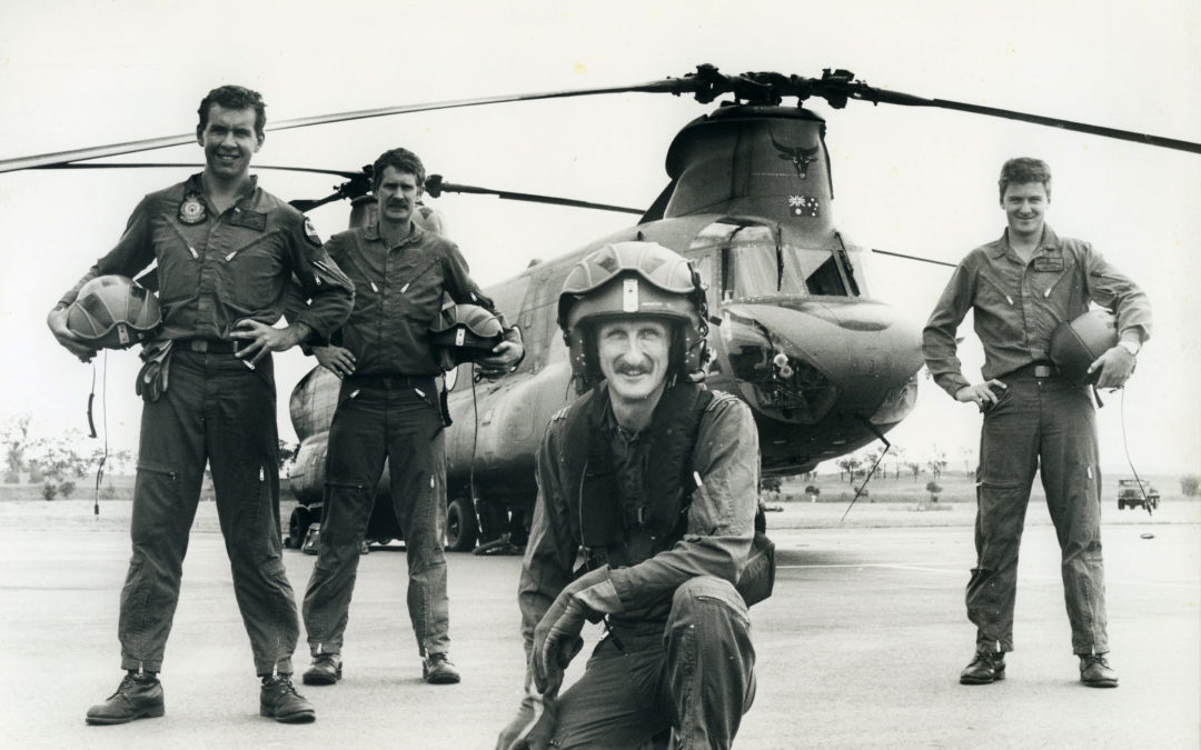 The Early Years in 12SQN – Hendo