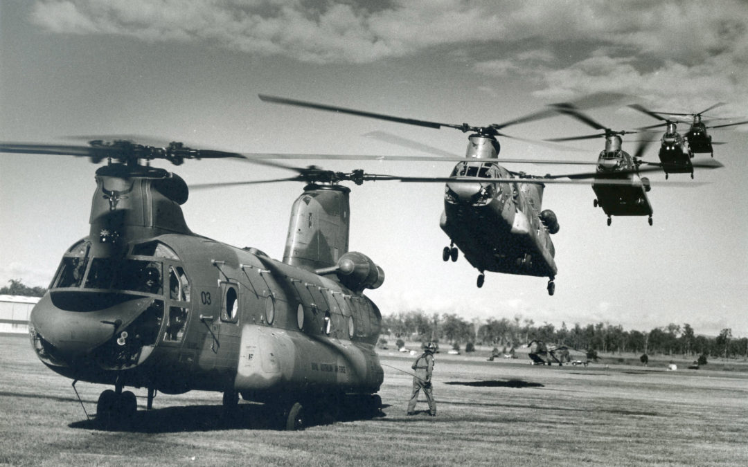 Hendo Reflects On The Operation Of 12SQN Chinooks