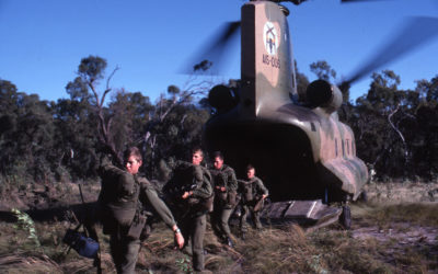 12 Squadron Working With The Australian Army
