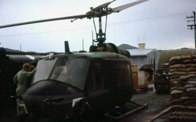 No. 9 SQN RAAF SVN Iroquois A2-1019