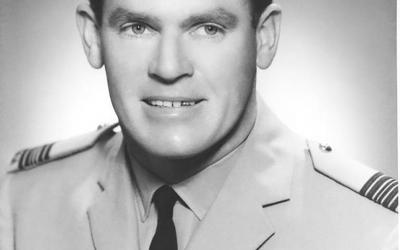 Wing Commander Brian Dirou DFC